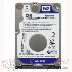 هارد وسترن دیجیتال ۵۰۰GB آبی