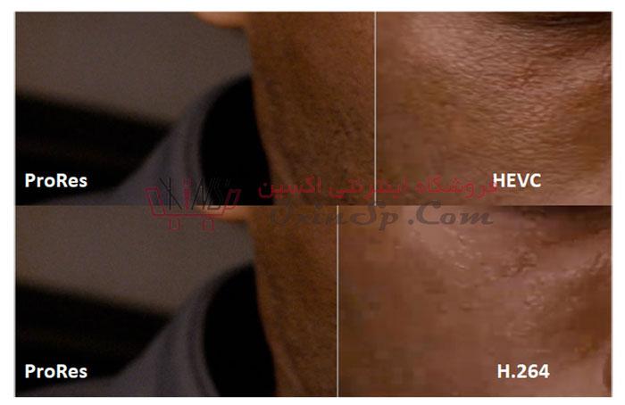 مقایسه h264 با h265