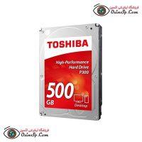هارد توشیبا ۵۰۰GB قرمز
