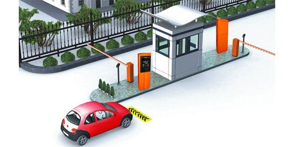 سیستم کنترل تردد پارکینگ
