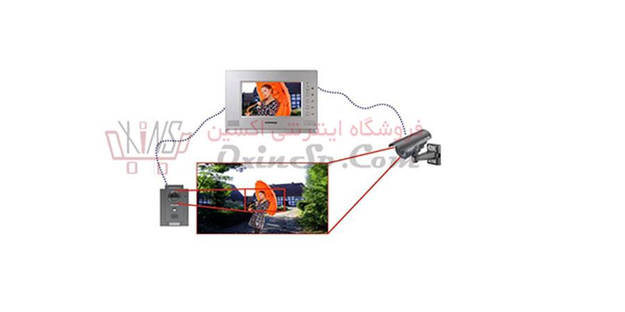 اتصال آیفون تصویری و دوربین مداربسته