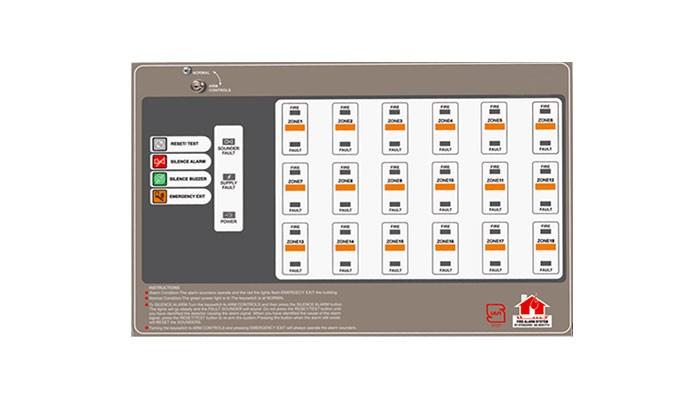 کنترل پنل سیستم اعلام حریق